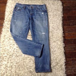 Ann Taylor Loft Boyfriend Jeans Size 4